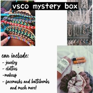 vsco mystery box! choose your price!